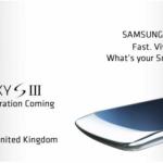 Samsung Galaxy S3 – Fuite de l'invitation