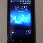 Sony Xperia Sola – Le test du smartphone à écran tactile «sans contact» !