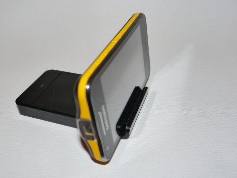 Samsung Galaxy Beam avec dock