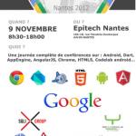 GDG Nantes présente le DevFest Nantes 2012