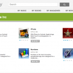 Google Play – La suite d'applications Apple a fait une brève apparition #fake