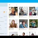 Skype – Nouvelle interface pour les tablettes et compte Microsoft
