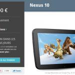 Retour de la Nexus 10, on se dépêche…