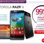 Motorola Razr i – 99€ chez Virgin Mobile avec un forfait Extaz M