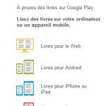 Google Livres – On peut maintenant pré-commander sur Google Play