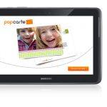 Popcarte – Une version Galaxy Note 10.1 pour l'application d'envoi de carte postale