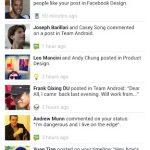 Facebook pour Android : Enfin une nouvelle mouture, plus rapide