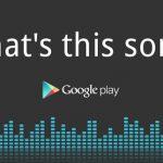 Sound Search for Google Play – Google lance son concurrent de Shazam aux USA
