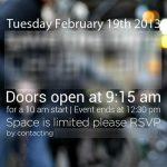 HTC – L'évènement du 19 février confirmé