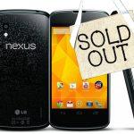 Nexus 4 disponible… dans des magasins allemands.