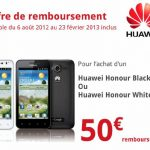 Promo – ODR de 50€ sur le Huawei Honour #bonplan