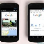Google chrome reçoit une mise à jour intéressante sur android
