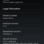 Nexus 7, 10 et Galaxy Nexus – Une mise à jour 4.2.2 en cours de déploiement