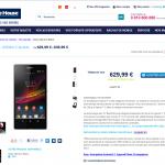 Sony Xperia Z – Préventes ouvertes chez The Phone House avec casque offert