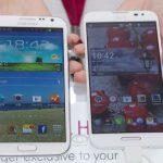 LG Optimus G Pro vs Samsung Galaxy Note 2 #MWC2013
