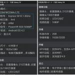 Samsung Galaxy S4 – Les dernières spécifications révélées par un benchmark