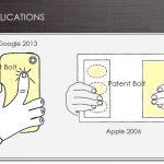 Google – Un brevet pour des contrôles à l'arrière des terminaux