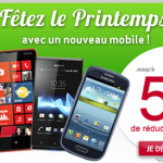 Virgin Mobile – Fêtez le printemps avec 50€ de réduction