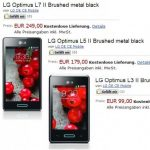 LG – Amazon Allemagne vient de référencer les séries L II