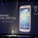Premier spot publicitaire pour le Samsung Galaxy S4 !
