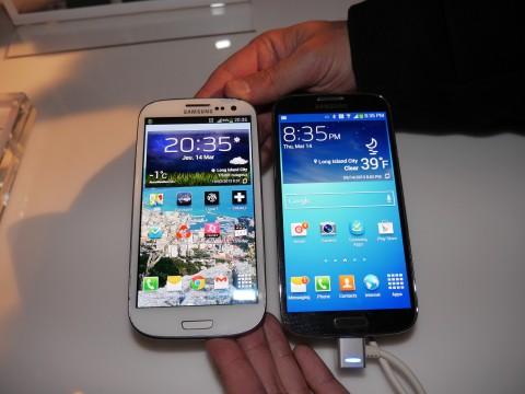 Samsung Galaxy S3 vs Galaxy S4
