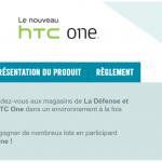 Parisiens, tentez de gagner un HTC One avec The Phone House