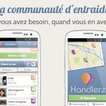 Handlerz – Le client officiel du réseau d'entraide disponible sur Android