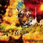 Orkcreation – nouveau fond d'écran tigré