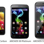 Archos lance une gamme de 3 smartphones