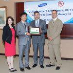 Le Samsung Galaxy S IV certifié UL Platinum