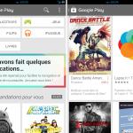 Play Store – La nouvelle version en cours de déploiement en France
