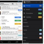 Gmail pour Android se met à jour, avec une nouvelle interface