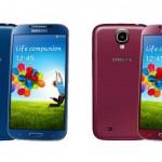 Samsung Galaxy S4 – 4 nouvelles couleurs cet été pour fêter les 10 millions de ventes