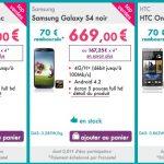 Sosh – 70€ remboursés sur le One, le Galaxy S4 et le Xperia Z