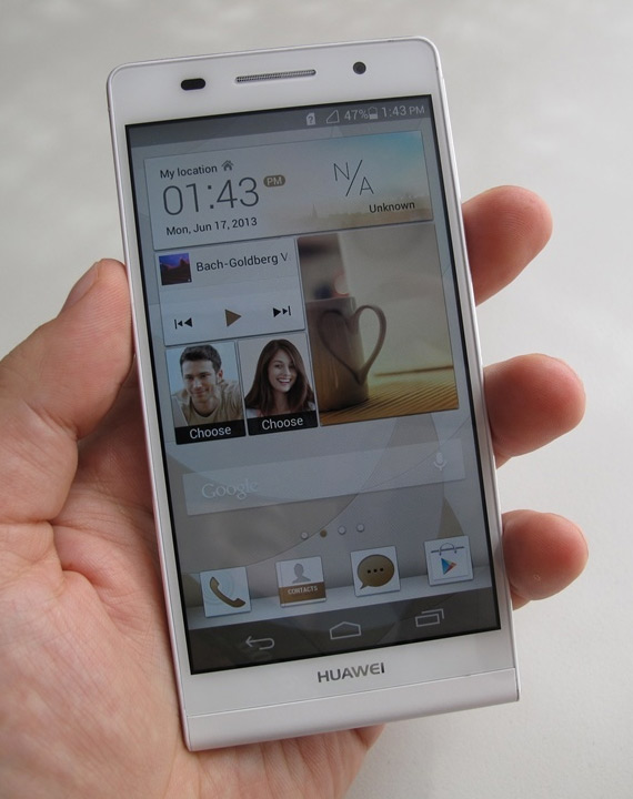 Photos et prix de Huawei Ascend P6 - Android-France