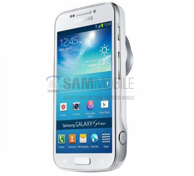 Le Samsung Galaxy S IV Zoom dévoilé en images - Android-France