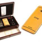 Une idée cadeau hors de prix : le HTC One plaqué or