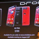 Motorola – Démonstration d'Active Display, Touchless Control et Quick Camera