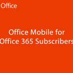 Microsoft Office pour Android enfin disponible (si on veut)