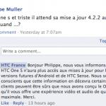 HTC – Pas d'Android 4.2 ni de Sense 5 pour le One S