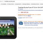 Le Toshiba Excite Pure disponible en France