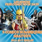 9 BDs gratuites pour le BDBuzz Comic Book Days