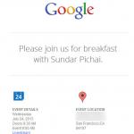 Google – Un événement presse prévu le 24 juillet