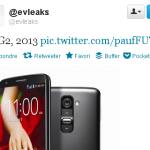 LG G2 – Fuite de photos presse avant l'annonce officielle