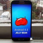 Samsung Galaxy S4 – Déploiement d'Android 4.3