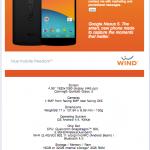 Nexus 5 – Une fiche technique et un entrepôt dévoilés
