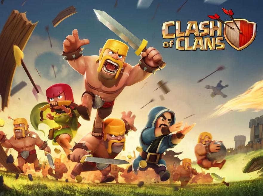 en temps réel Clash of Clans vient d'arriver sur Google Play