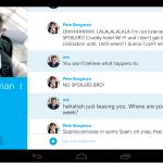 Mise à jour de Skype pour Android – Nouvelle interface tablette, meilleur qualité vidéo…