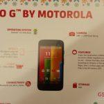 Le Motorola Moto G – une entrée de gamme à moins de 150 euros
