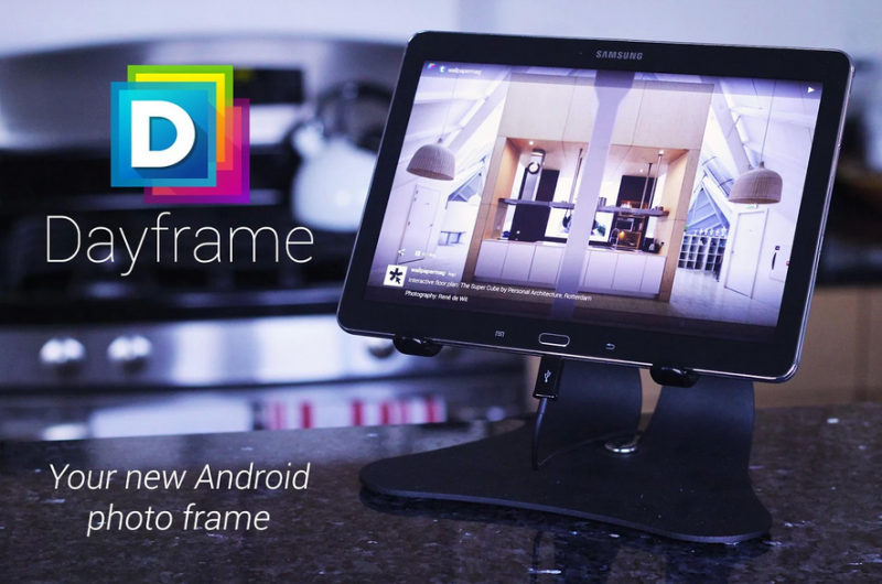 Dayframe  Android photo frame